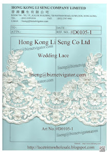 Wedding Lace Wholesale and Manufacturer - Hong Kong Li Seng Co Ltd