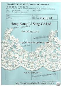 Wedding Lace Wholesale and Manufacturer - Hong Kong Li Seng Co Ltd