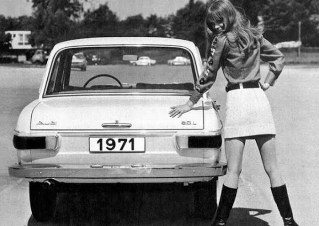 Vintage Ladies of Car Advertising.