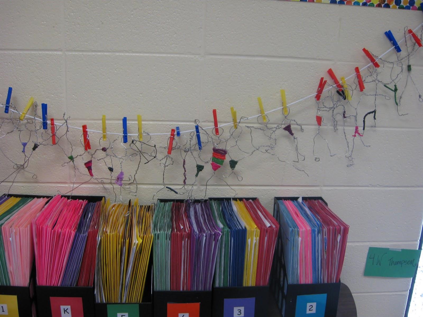 Mrs. Elder\'s World of Art: 5th Grade wire figures
