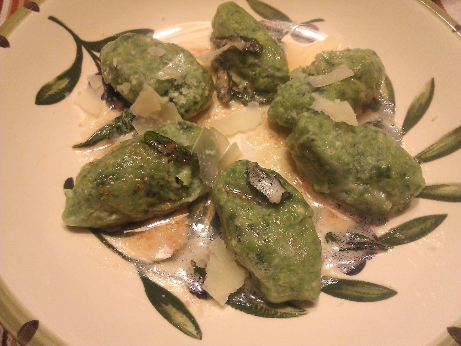 Baker Becky: Malfatti - Delicious Dumplings From Heaven
