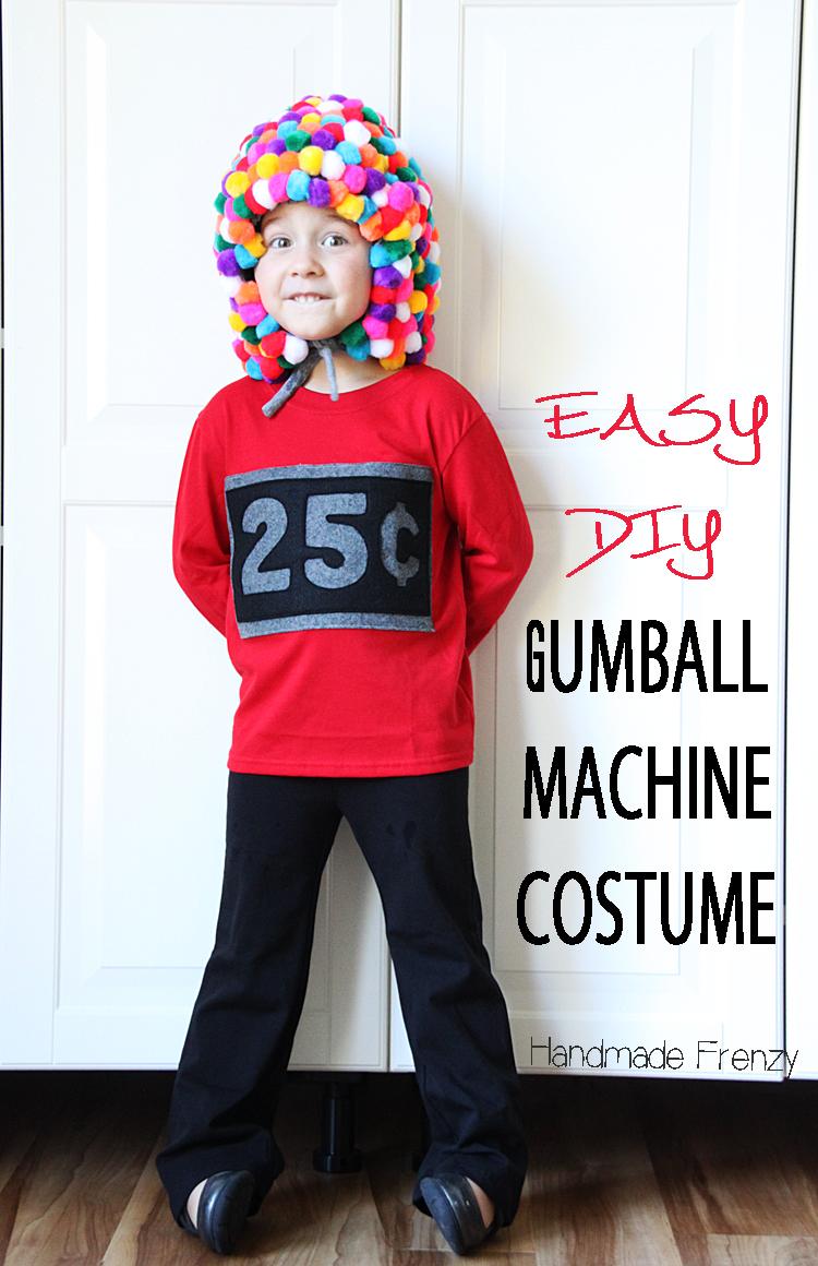 Easy DIY Gumball Machine Costume / Handmade Frenzy