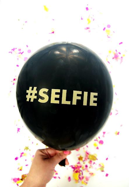 Ballons à Texte #SELFIE