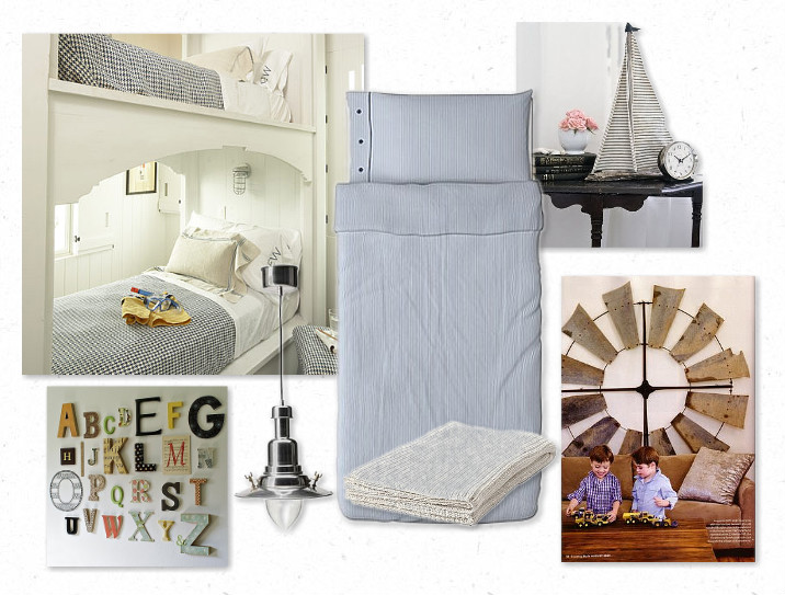 Remember Way Back When I Showed You The Inspiration Board Had Created For My Boys Room