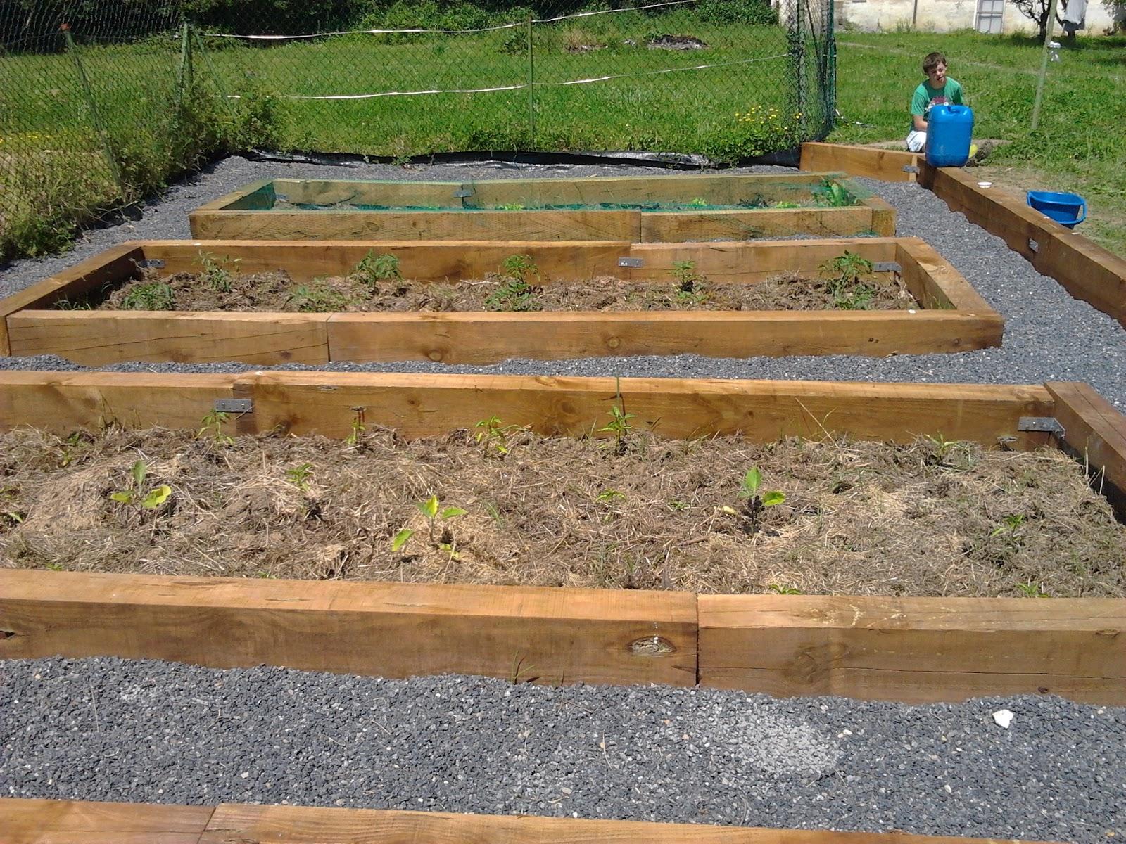 Sat trabajo en el huerto y jardines - Cerrar valla jardin ...