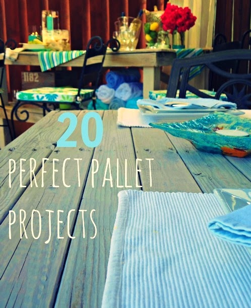 Upcycling Ideas 20 Perfect DIY Pallet Projects