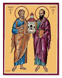 ♱Bem-aventurados apóstolos Pedro e Paulo♱