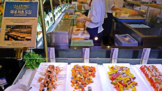 Salad Bar at Todai Restaurant | www.meheartseoul.blogspot.com