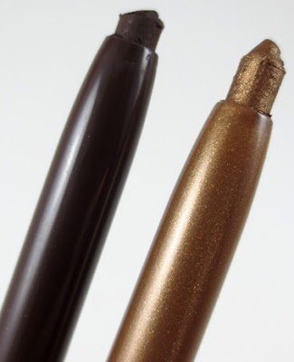 Essence Long Lasting Eye Pencil Bling Bling and Hot Chocolate