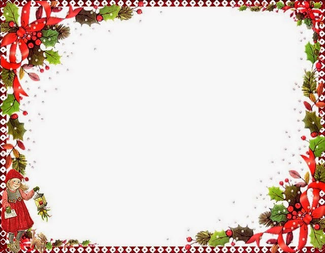 Santa Borders And Frames Holly free printable borders and frames for ...