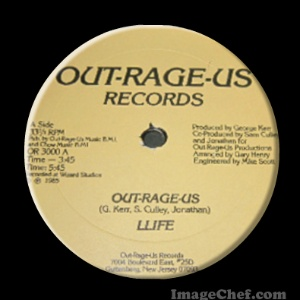 LLIFE - Out Rage Us