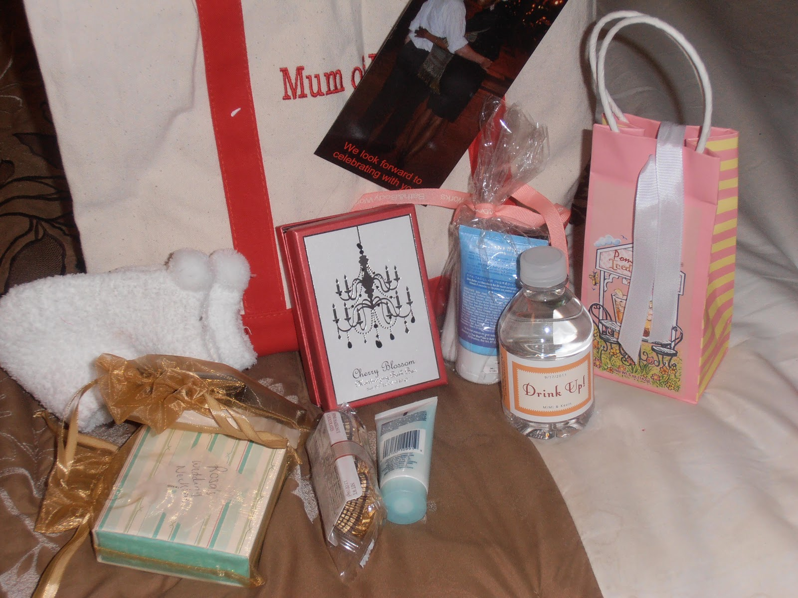 Wedding Gift Bags For Parents : : Wedding and Bridal Party Gift Bags: Thank You Gifts for our Parents ...