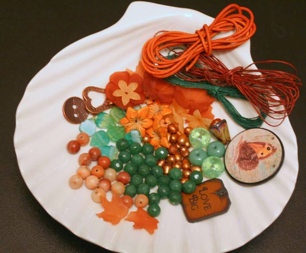 Bead Soup Blog Party #8: the package from Penny :: All Pretty Things
