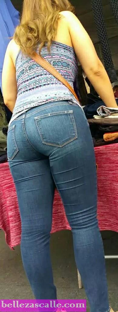 culos jeans ajustados pantalones cortos traseros