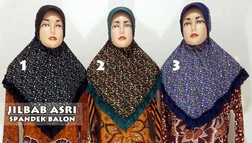 jilbab-bergo-cantik-motif-polkadot