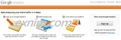 Cara Setting Google Analytics di Blog