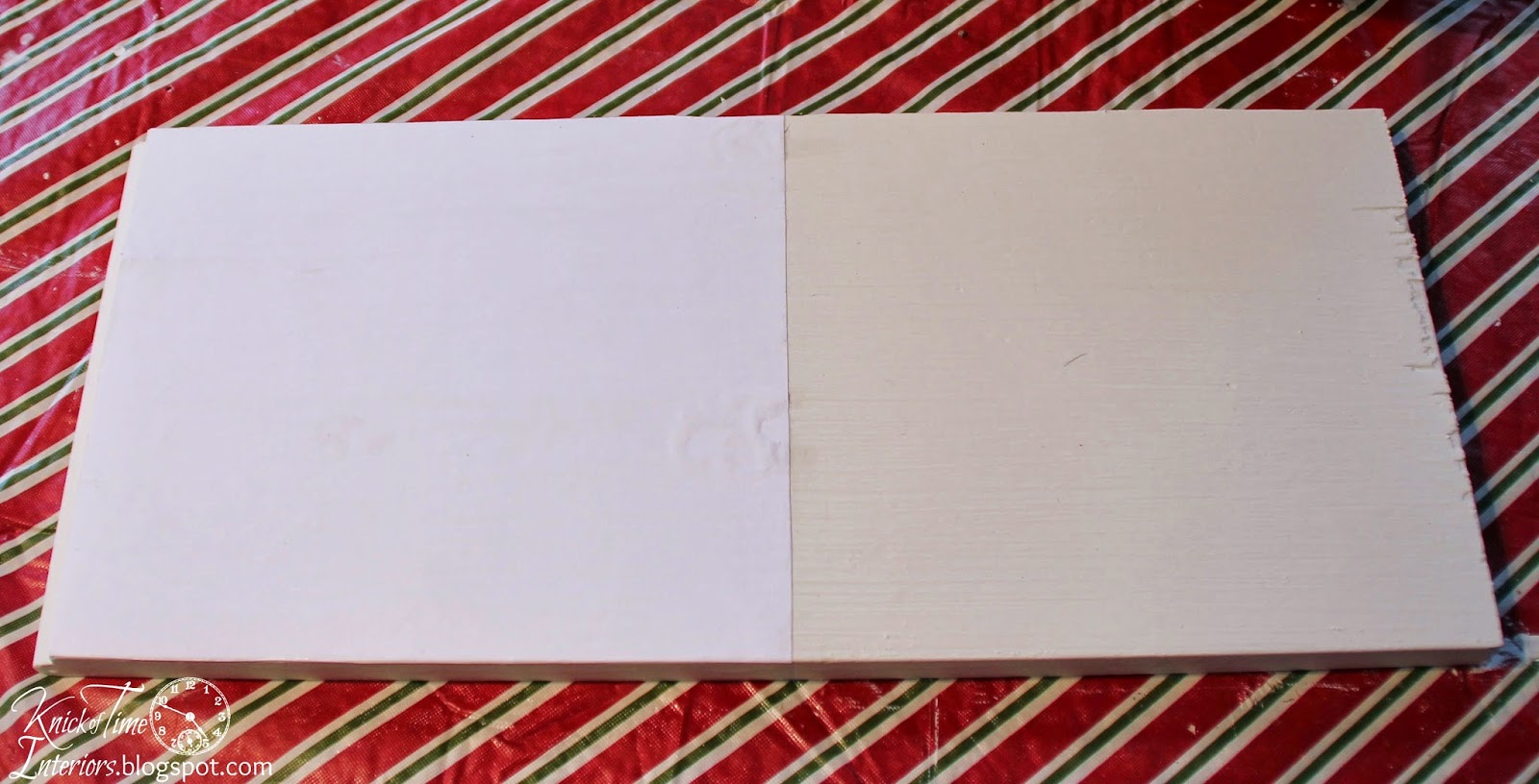 Photo Transfer onto Wood with Omni Gel - Repurposed Wood Salvage Coat Rack via Knick of Time