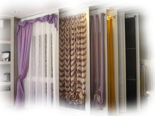 Tipos de cortinas para ventanas ideas para decorar dise ar y mejorar tu casa - Diferentes tipos de cortinas ...