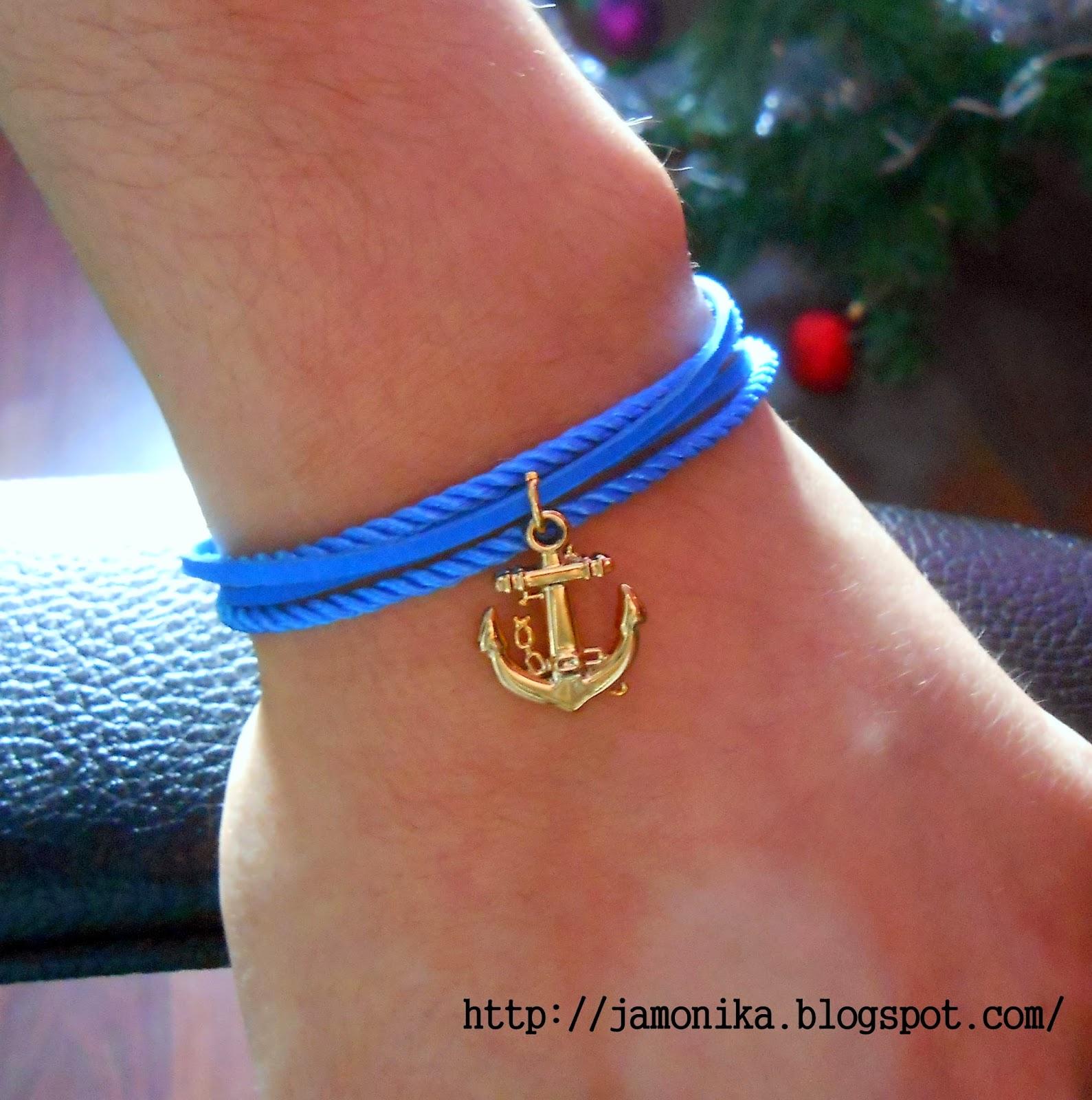 Marynarska bransoletka