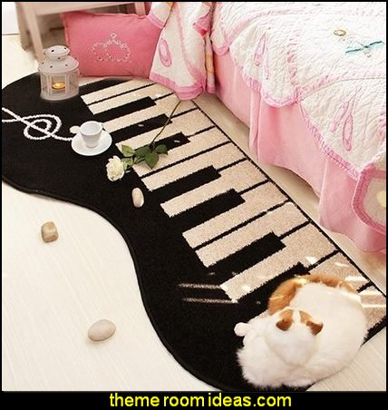 Piano Shag Area Rug