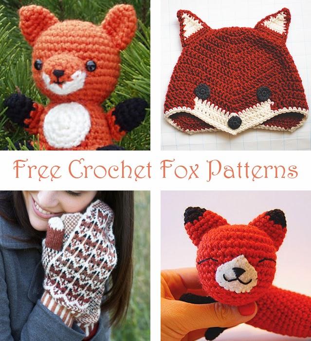 Lets Play Crochet!: Free Fox Crochet Patterns