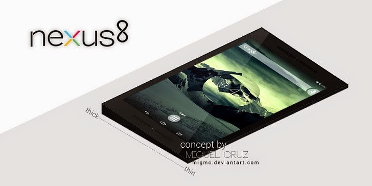 HTC, HTC Nexus 8, Android L, NFC, GPS, Tegra processor, new nexus tablet, new HTC tablet, gadget geeks
