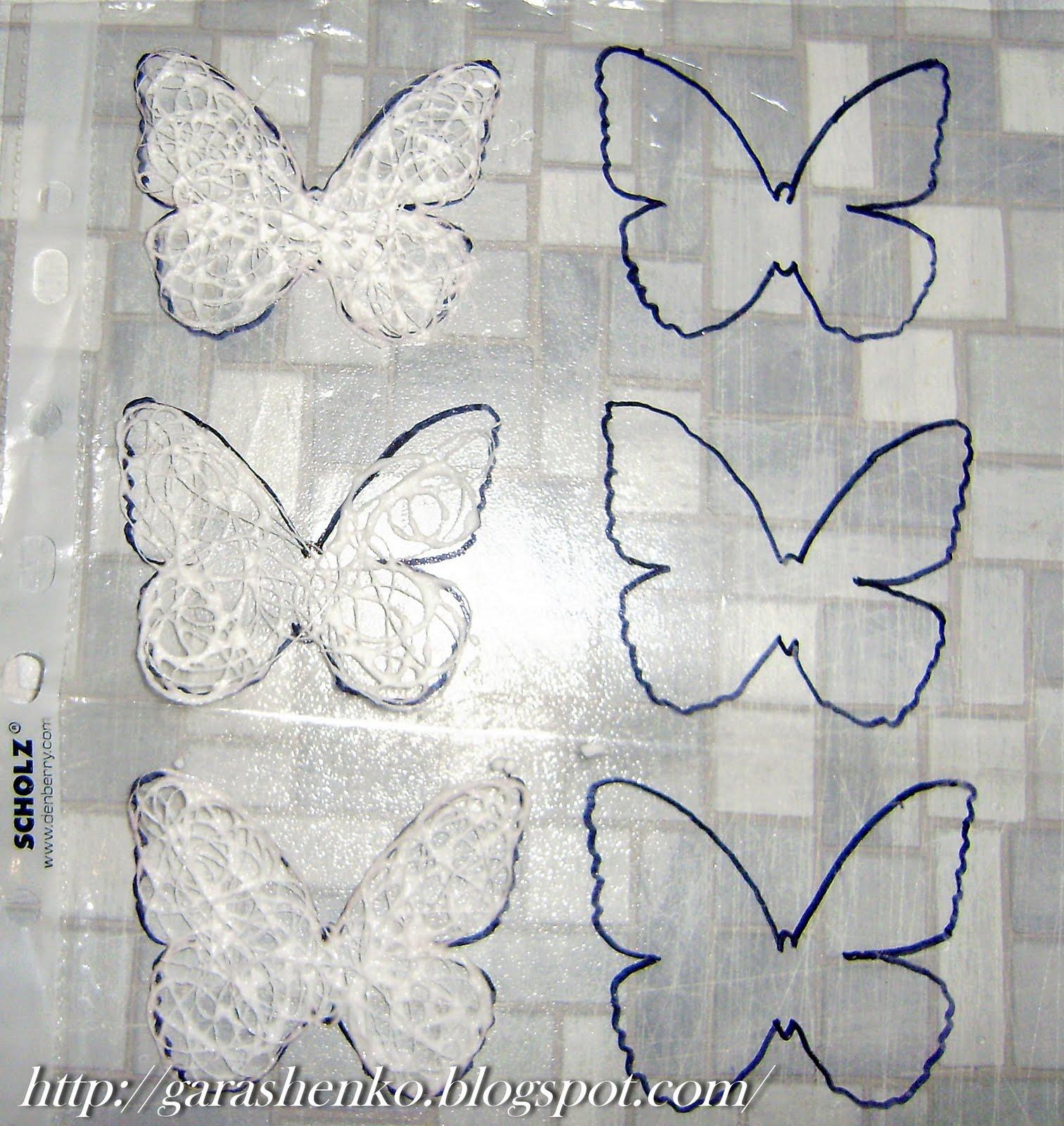 Бабочку оставляем сохнуть на сутки.  Бабочка высохла, приступаем к украшению.  Клеим наши детали так, как на фото.