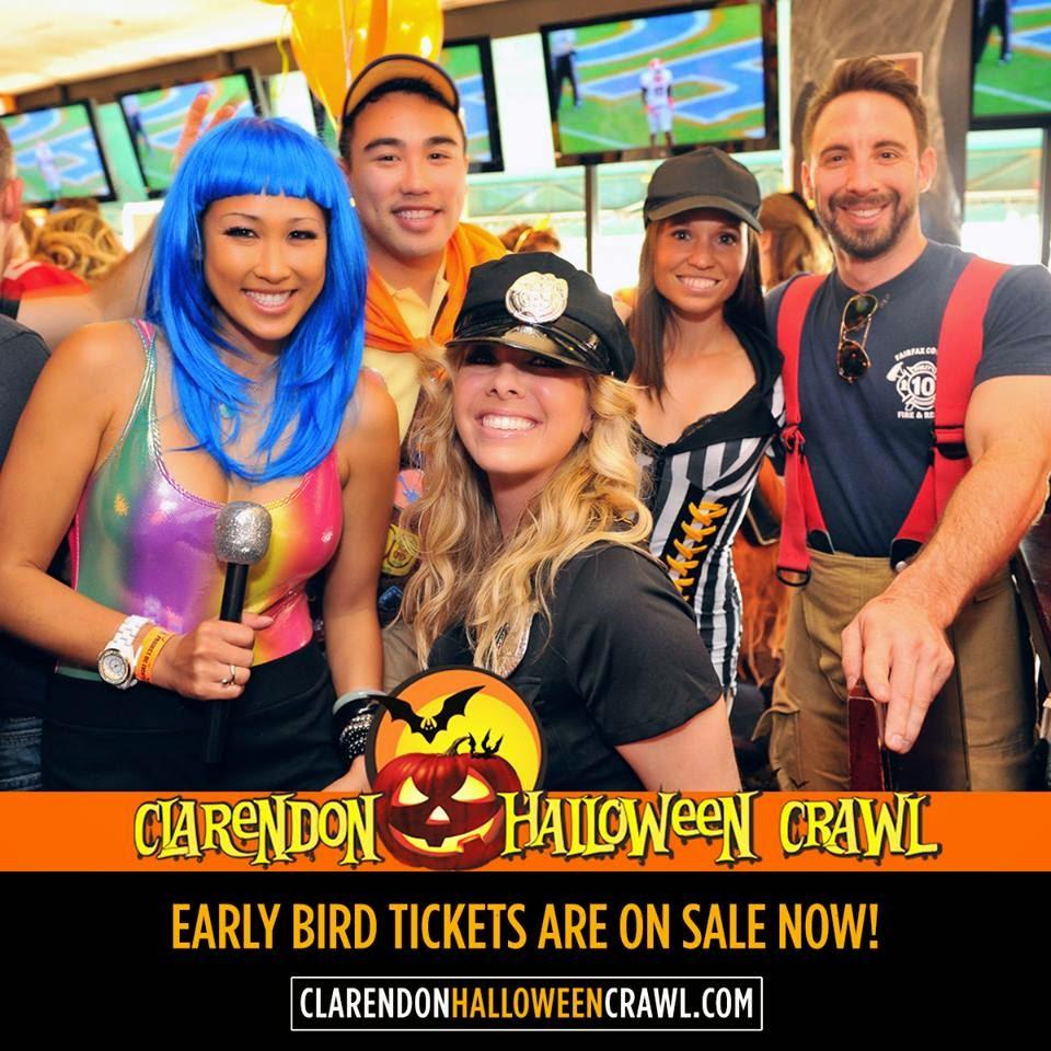 Clarendon Nights: Halloween in Clarendon  Nov 1 Bar Crawl - November 1 Halloween