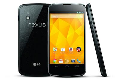 5 Ponsel Android Terbaik 2013, LG Nexus 4