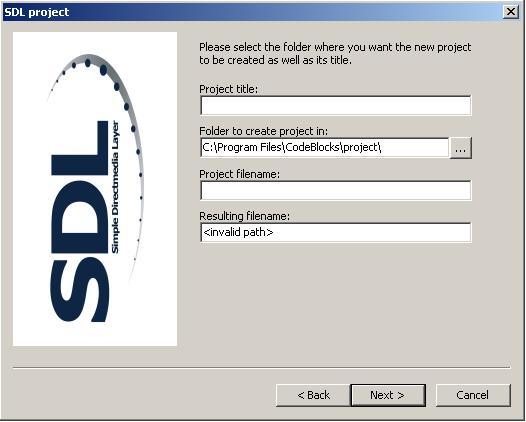 SDL project title