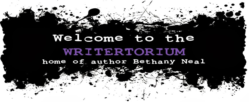 The Writertorium: Home of YA Author Bethany Neal