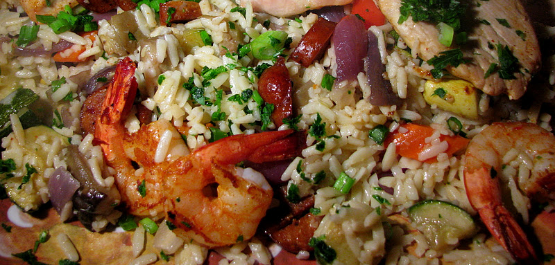 Food Network Musings Orzo As Jambalaya