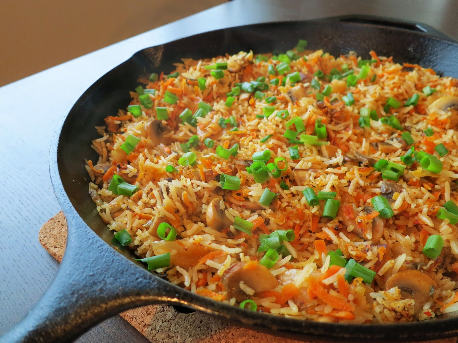 Kimchi Fried Rice Recipe — Dishmaps