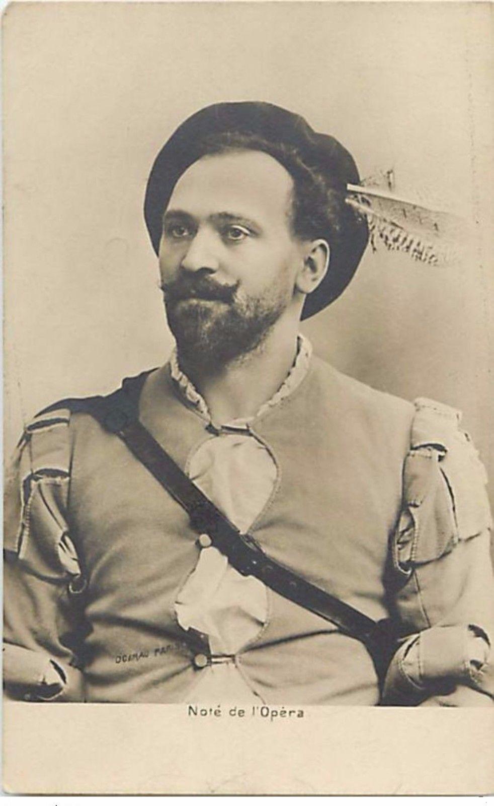 BELGIAN BARITONE JEAN NOTÉ (1859-1922) CD