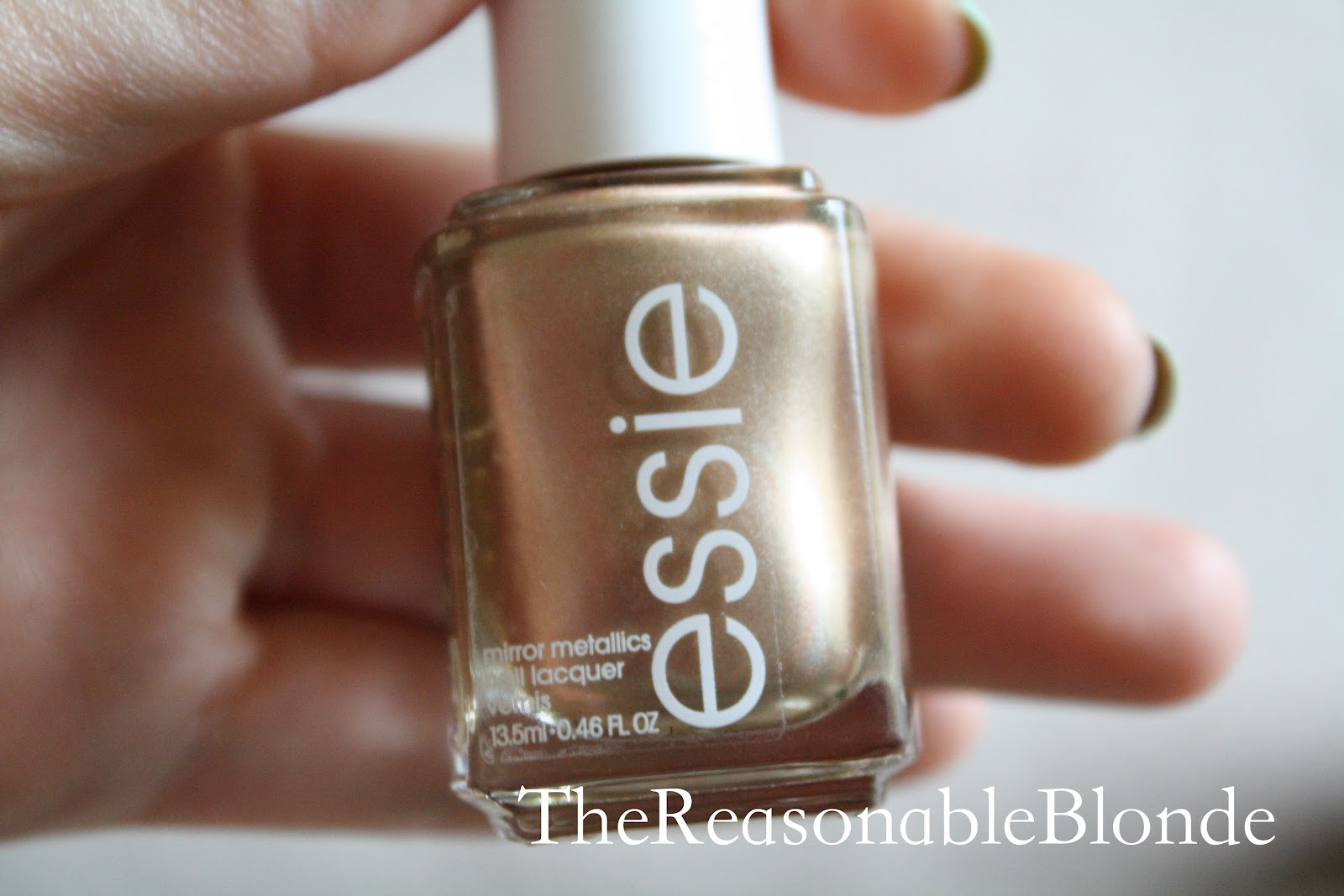 The Reasonable Blog: Rose Gold Nails: Essie Penny Talk vs. Orly Rage
