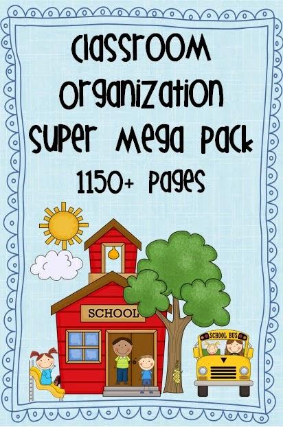 Classroom Organization Super Mega Pack