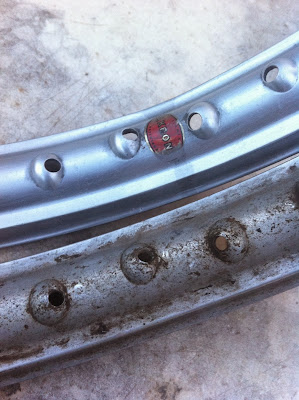 Llantas de aluminio de montesa impala