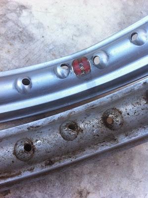 Restauraci n de una impala turismo el proceso casero del pulido a espejo del aluminio - Pulir aluminio a espejo ...