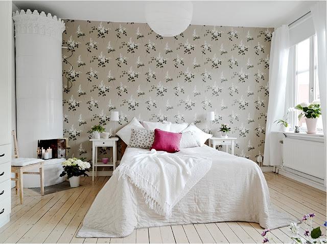 My Bohemic home: juni 2013 : sovrum tapet : Sovrum
