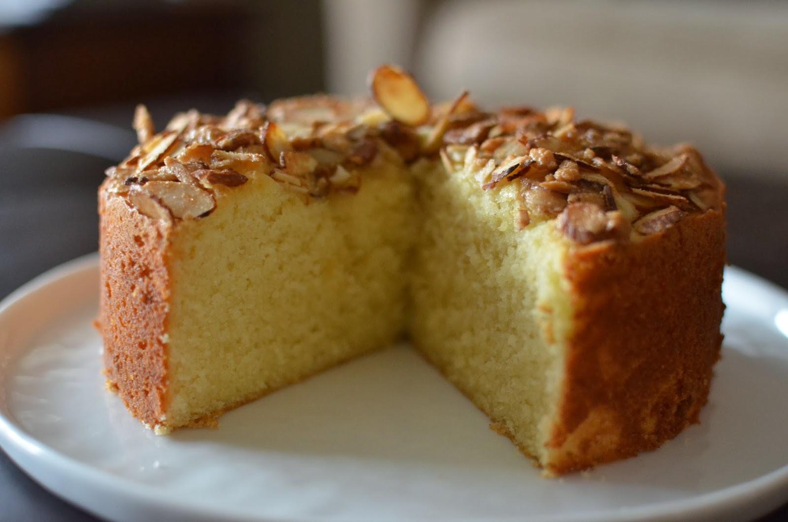 Playing With Flour Almond Semolina Cake