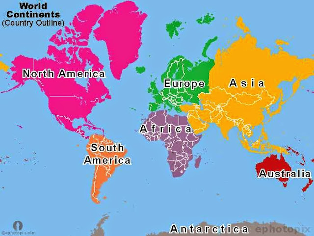 Gratifying image intended for 7 continents printable