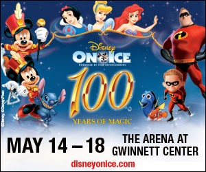 Disney, Mickey Mouse, Minnie Mouse, Stitch, Snow White, Cinderella, Ariel, The Incredibles, Nemo, Dory, Disney on Ice, Feld Entertainment, The Arena at Gwinnett Center, Gwinnett, Atlanta, USA, Georgia, ice skating, contest, tickets,