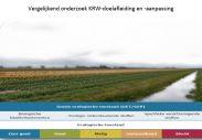 cover Vergelijkend onderzoek KRW-doelafleiding en -aanpassing