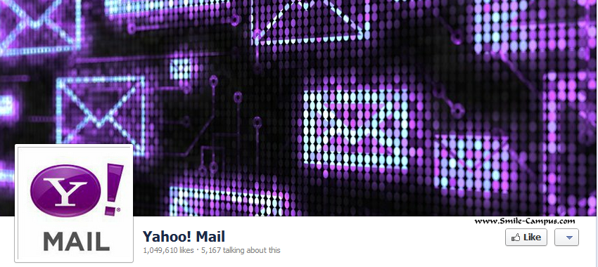 Yahoomail.com Facebook Timeline Page
