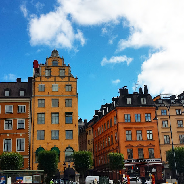 Gamla Stan in Stockholm  |  Conflicting pregnancy rules: U.S. vs. Italy vs. Sweden on afeathery*nest  |  http://afeatherynest.com