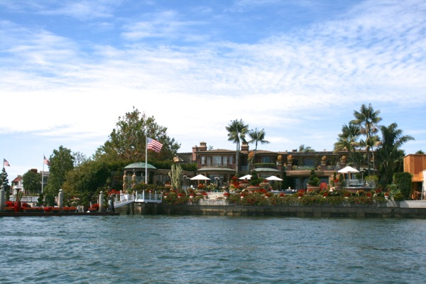 John Wayne house Newport Beach Harbour