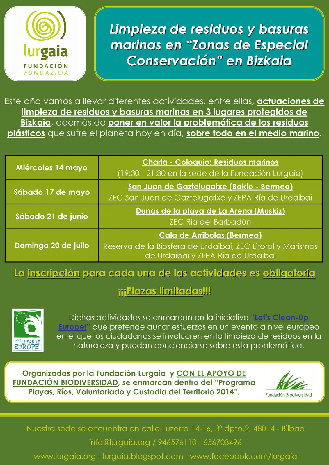 Fundación LURGAIA Fundazioa: Excelente trabajo de los voluntarios en ...