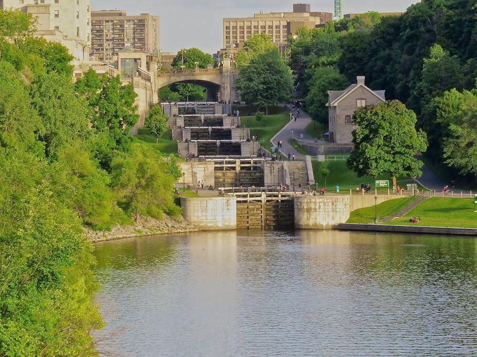 Locks on Rideau Canal