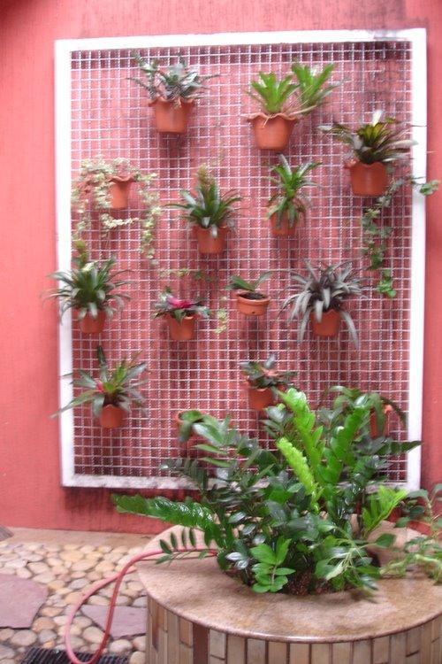 quintal jardim vertical:, alguns projetos sejam mesmo complicados, ter um jardim vertical