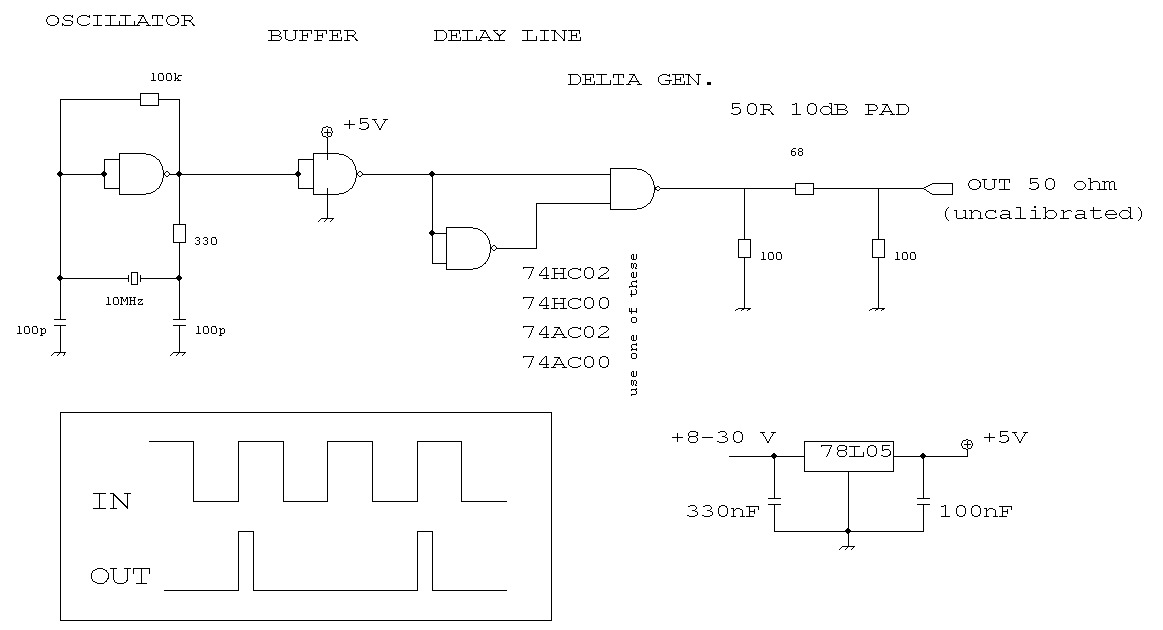 Knight Rf Generator Schematics : Comb generator schematic volt power supply
